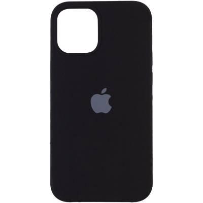 Чехол Silicone case Apple iPhone 13 Black (Черный)